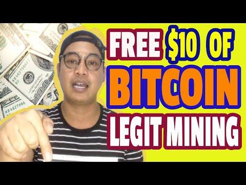 FREE $10 Or 50 GH/s BITCOIN MINING | LEGIT COMPANY AND TRUSTED | FREE TO JOIN AND CLAIM YOUR BONUS