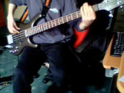 [OLD VIDEO] Simple Minds - Promised you a Miracle [Bass Cover]