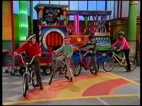 Barney round and round we go trailer
