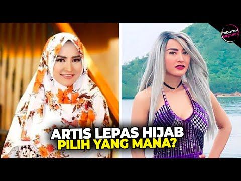 LEPAS HIJAB! 10 Artis Indonesia ini Menuai Pro dan Kontra Setelah Melepas Hijab