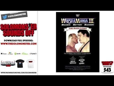 Hulk Hogan vs. Andre The Giant:  STILL The Biggest Wrestlemania Match Ever