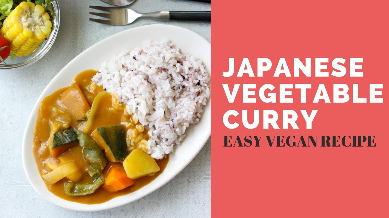 Japanese Summer Vegetable Plant Based Curry Rice Chef Ja Cooks