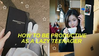 How to Stop Procrastinating & Get Work Done for LAZY teens | Crush your 2018 New Years Resolutions