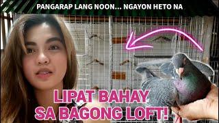LIPAT BAHAY SA BAGONG LOFT! A DREAM JUST CAME TRUE | Kalapati Girl Philippines | Collapsible Loft
