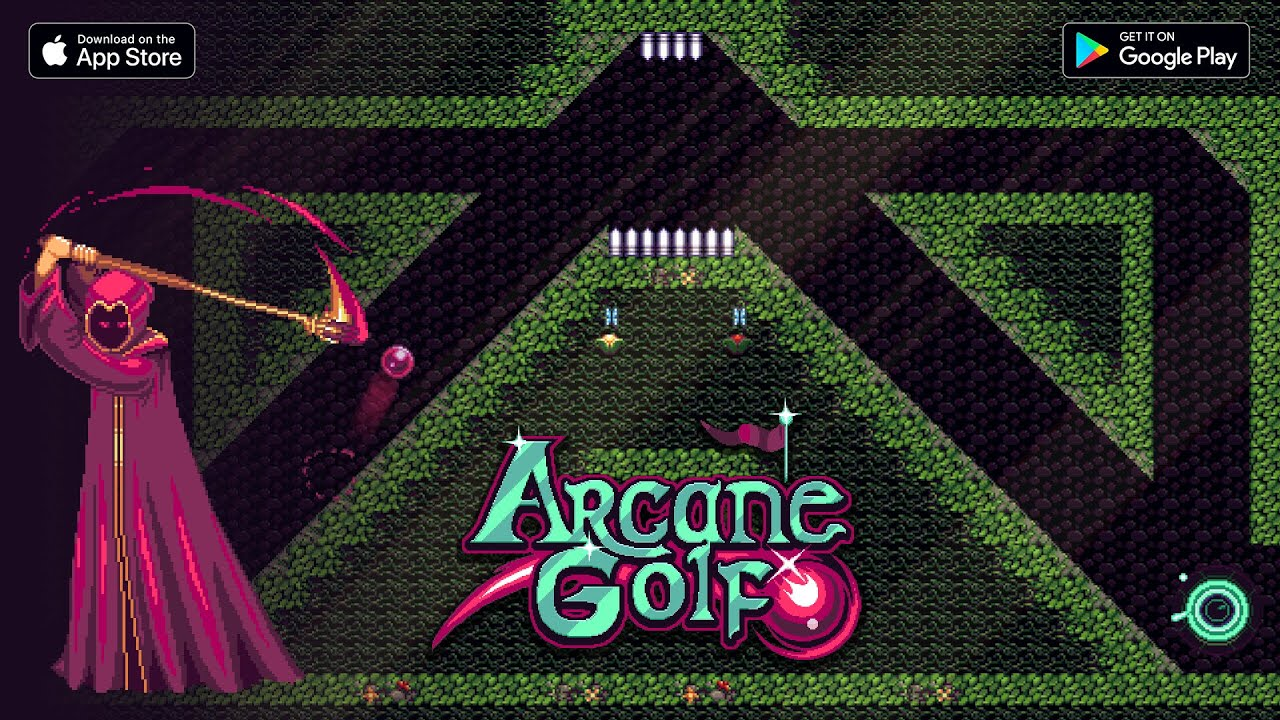 Arcane Golf - Now Available on iOS and Android!