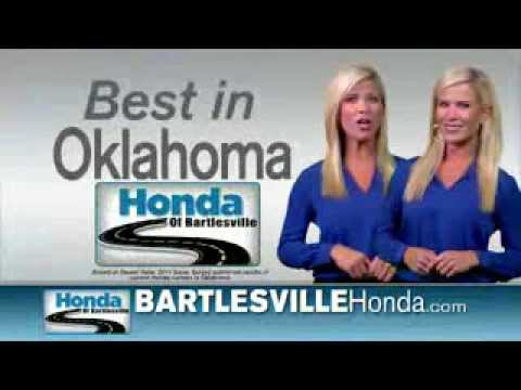 """Honda of Bartlesville """"One-Click Clearance Sale"""""""