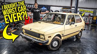 I Bought The WORST Car EVER MADE (And It's Actually WORSE Than You Think)