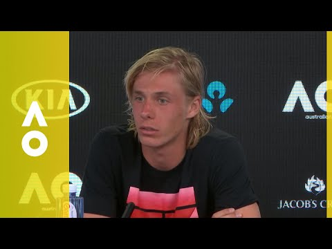 Denis Shapovalov press conference (2R) | Australian Open 2018