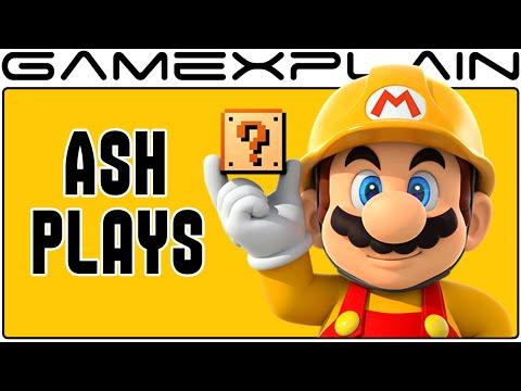 Super Mario Maker - Ash Plays YOUR Levels LIVE