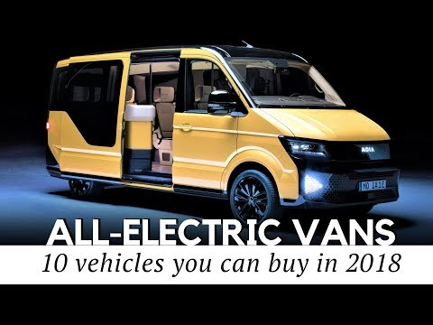 Top 10 Electric Vans: Cars You Should Buy for Family and Business