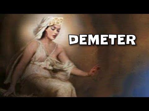 Kisah Dewi Demeter  Mitologi Yunani