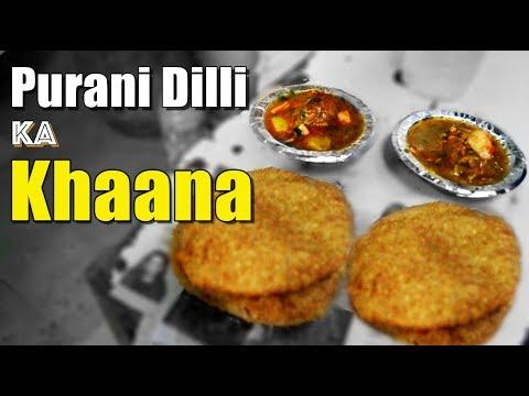 Best breakfast places in Old Delhi | Chandni chowk street food | Indian street food. | Sitaram Bazar