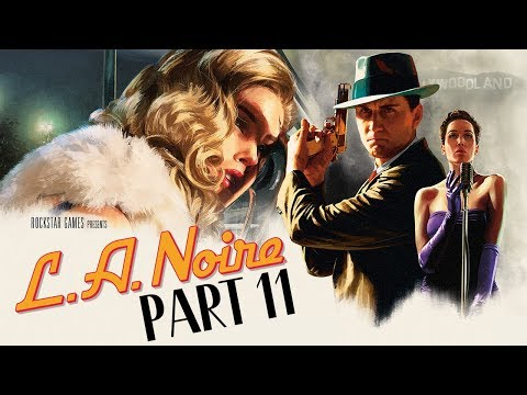 "L.A. Noire (PS4) - Let's Play (5-Star Ratings) - Part 11 - ""The Studio Secretary Murder"""