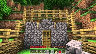 Minecraft Lets Play Episode 2 - Learning Curve
