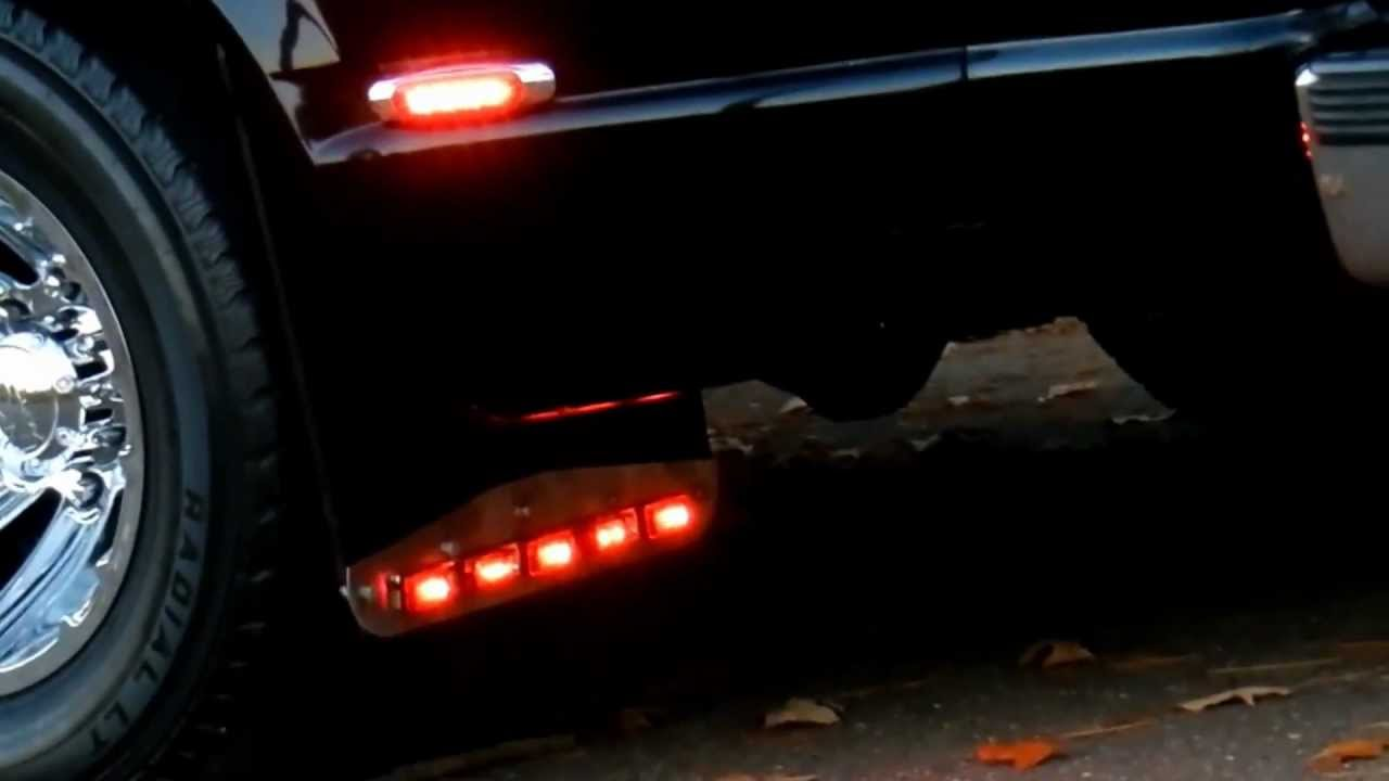 Dually Mud Flaps >> The 1st Dually On Youtube W Lights On Mudflaps