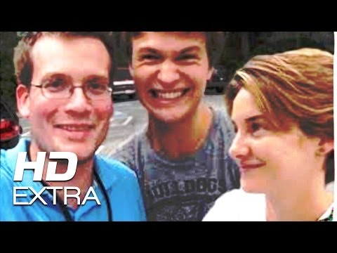 The Fault in Our Stars | On The Set with John Green | 2014