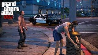 GTA 5 Roleplay - DOJ 414 - Homeless Life