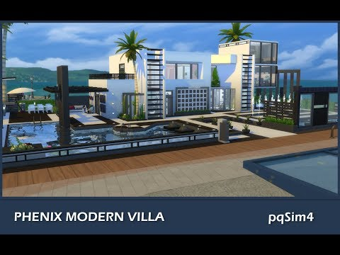 sims-4-speed-build-phoenix-modern-villa