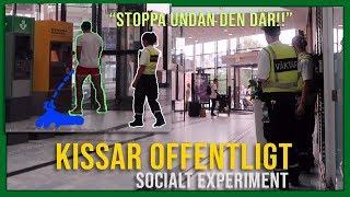 SOCIALT EXPERIMENT | KISSAR OFFENTLIGT