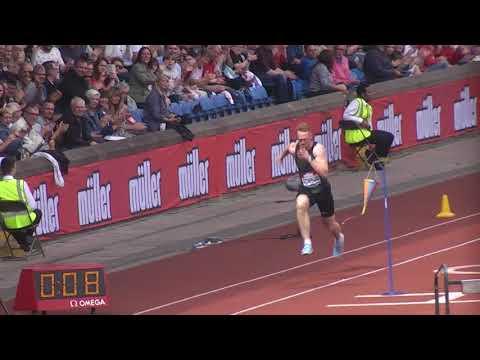 Greg Rutherford Long Jump Birmingham Aug 2018