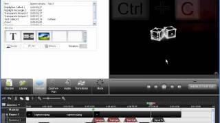 Camtasia Studio 7 - Видеоурок 6 - Часть 3/3 - Выноски - Video tutorial Callouts