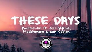 Rudimental ft. Jess Glynne, Macklemore & Dan Caplen - These Days (Marvin Vogel Remix)