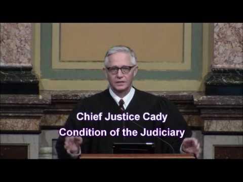 2017 Iowa Condition of the Judiciary speech