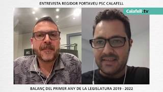 Entrevista al regidor portaveu del PSC de Calafell