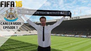 Fifa 16 newcastle united career mode - return to glory - s1e01