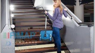 Ручная подметальная машина FIMAP Broom электровеник в магазине(АО «Компания инноваций и технологий» ☆ предлагает купить по доступной цене ✓ новинку уборочной техники..., 2015-05-29T07:05:27.000Z)