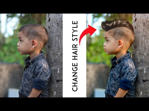 Change Hair Style In Photoshop With Hair Png