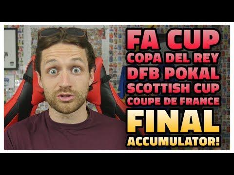 EUROPEAN CUP FINALS ACCUMULATOR!