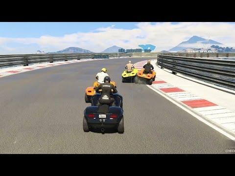 WIE HAALT DE FINISH NIET!? (GTA V Online Funny Races)