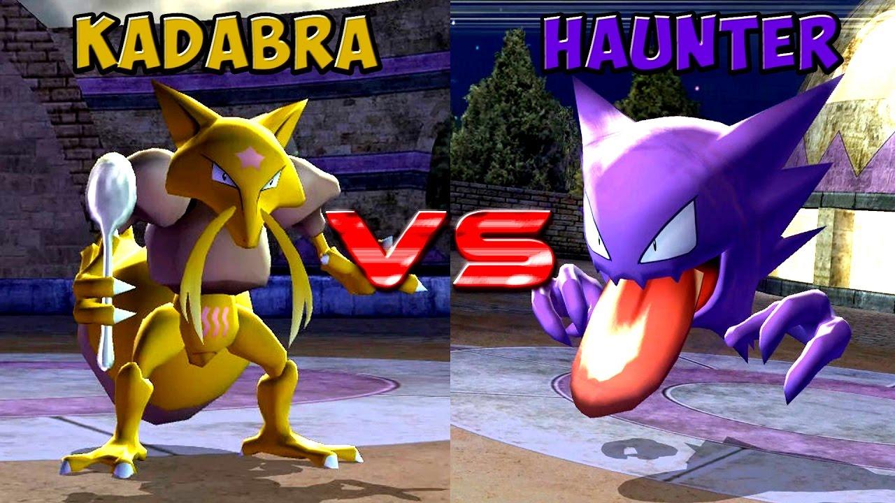 Pokemon Battle Revolution Kadabra Vs Haunter Youtube
