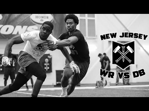 Nike Football's The Opening New Jersey 2017 | WR vs DB