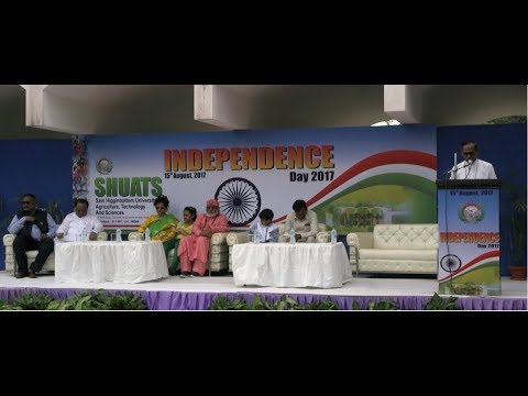 71st Independence Day celebration at  SHUATS 2017