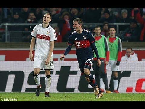 Stuttgart 0-1 Bayern Munich: Sven Ulreich late penalty as Jupp Heynckes' side go into the Bundesliga