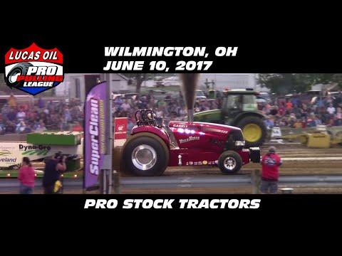 6/10/17 PPL Wilmington, OH Pro Stock Tractors