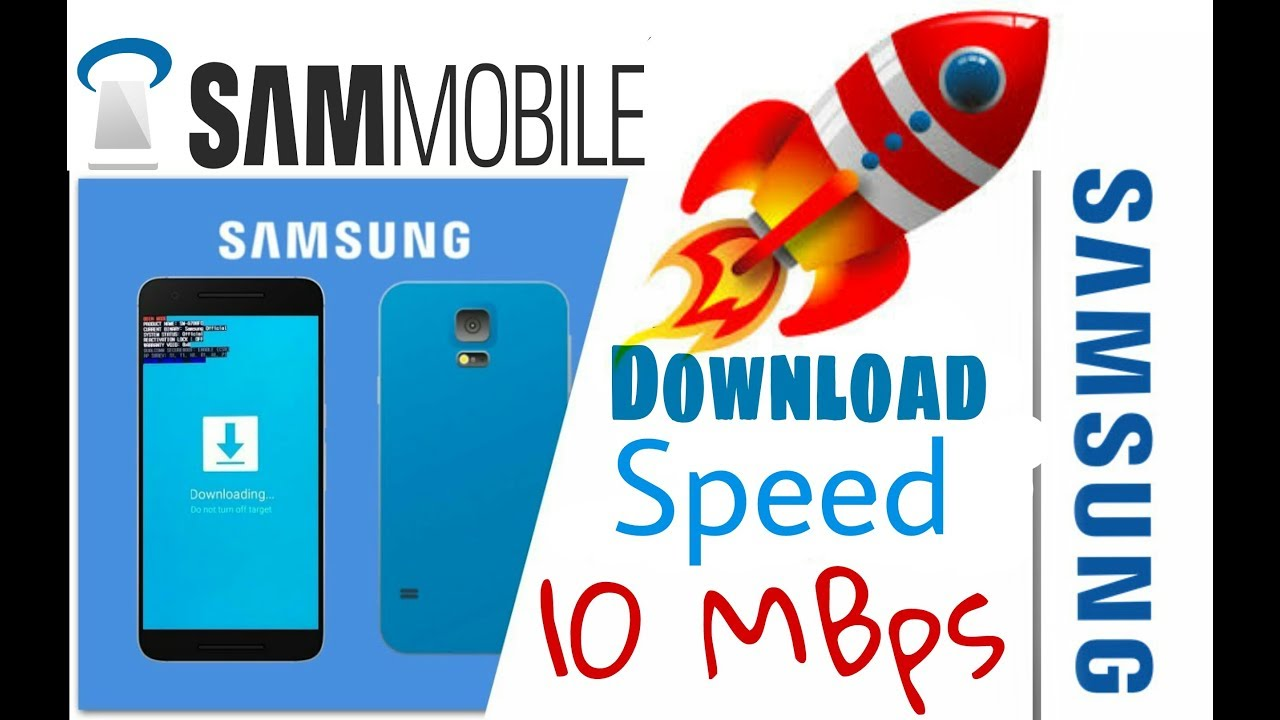 How To DownLoad Sammobile Firmware at 10MBps speed