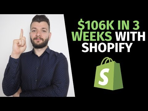 $106k in 3 Weeks With Shopify Dropshipping in 2019 | eCommerce Scaling in 2019