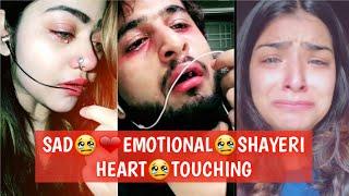 Best Emotional😢❤Sad Shayeri Heart Touching Tiktok Musically Videos 2019 | SAD SHAYARI | SAD TIKTOK