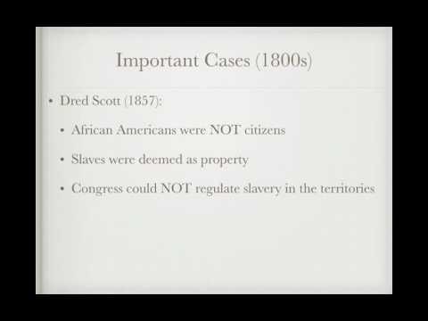 US Regents Review: Important Court Cases
