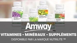 Nutrilite offre des Vitamines, des Minéraux et des Suppléments de Phyto-Nutriments | Amway