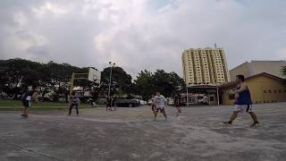 4 on 4 basketball with friends - June 12 2017