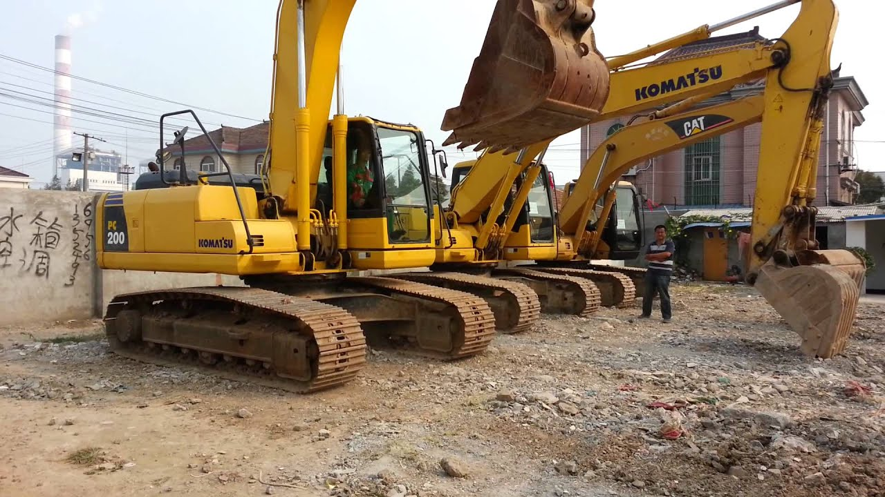 Used Komatsu Pc200 7 Excavator