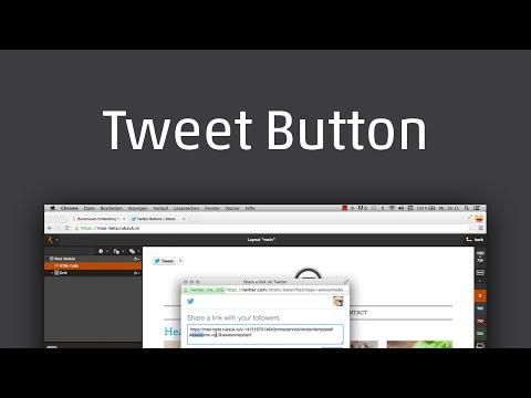 Tweet-Button Einbinden (DE)
