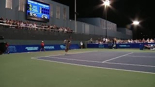 Lundqvist and McEnroe battle Djokovic and Norton