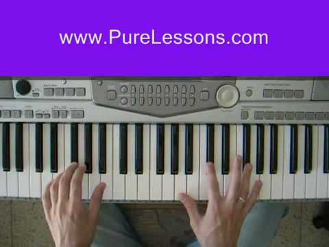 Footprints In The Sand Leona Lewis Piano Tutorial Youtube