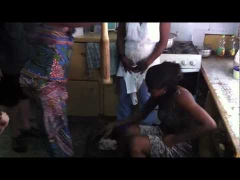 Chiropractic for the World - Fufu Making in Ghana, 2010