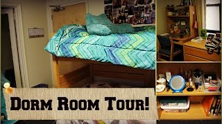 COLLEGE DORM ROOM TOUR! (Carpenter Tower at Marquette University) | Tewschool